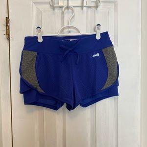 Avia Blue Workout Shorts